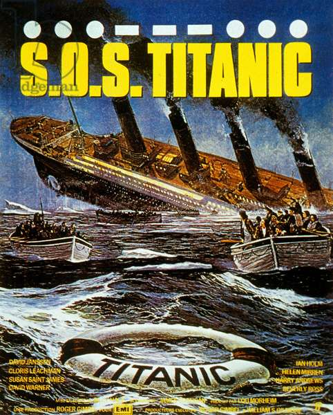 S.O.S. Titanic de William Hale avec David Janssen et Cloris Leachman 1979