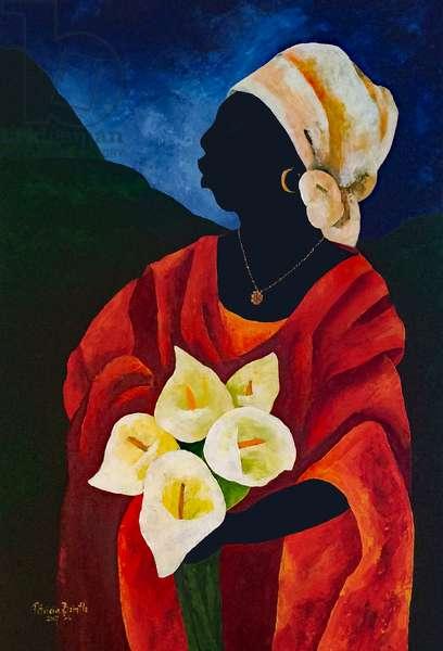 Callas five, 2017 (acrylic on canvas)