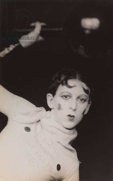 Untitled (I am in training, don't kiss me), 1927-29 (gelatin silver print)