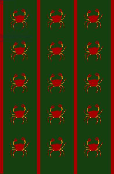 Design- CR- Crabs in Green