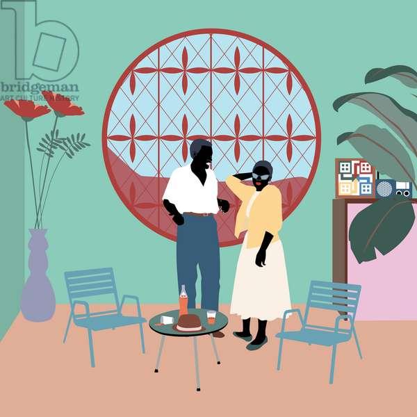 Le Njoka, 2019, (digital art)