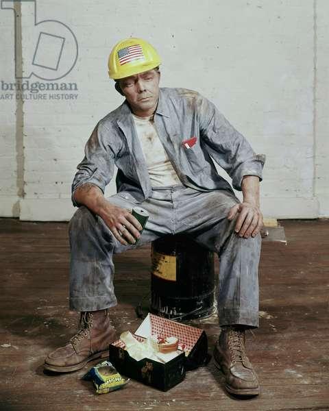 Untitled Sculpture (Construction Worker), 1970