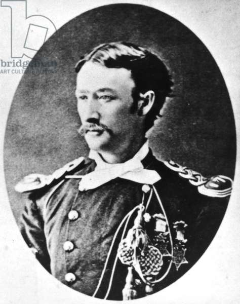 THOMAS CUSTER (1845-1876) American army officer and brother of George Armstrong Custer. Photographed c.1872.