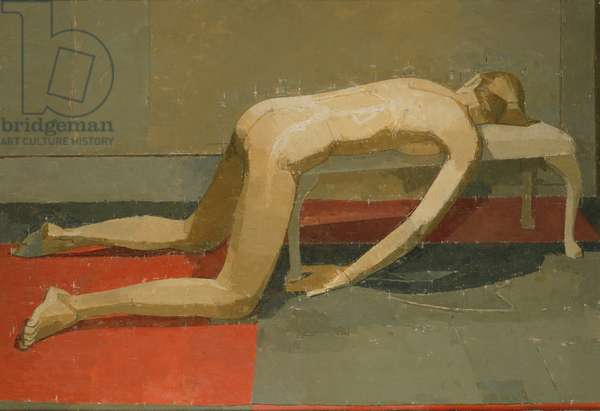Nuria, 2000 (oil on canvas)