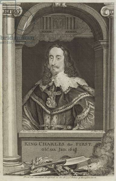 Portrait of Charles I of England (engraving)