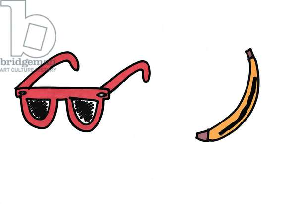 Red Sunglasses & Banana