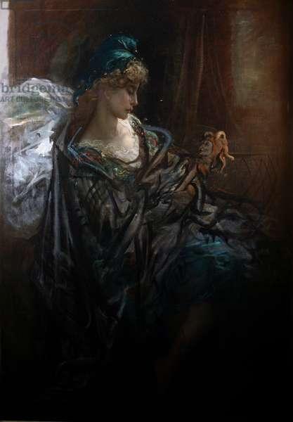 La Folie (oil on canvas)