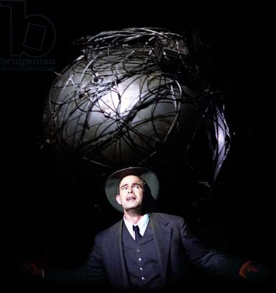 Gerald Finley as J Robert Oppenheimer
