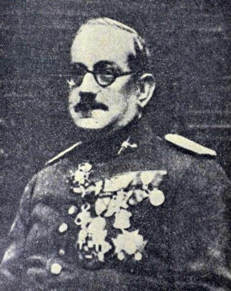 Spanish civil war : General Las Heras