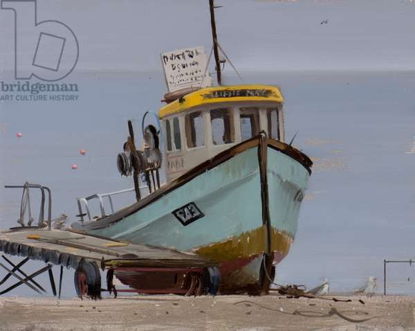 Mackerel boat, Beer, September