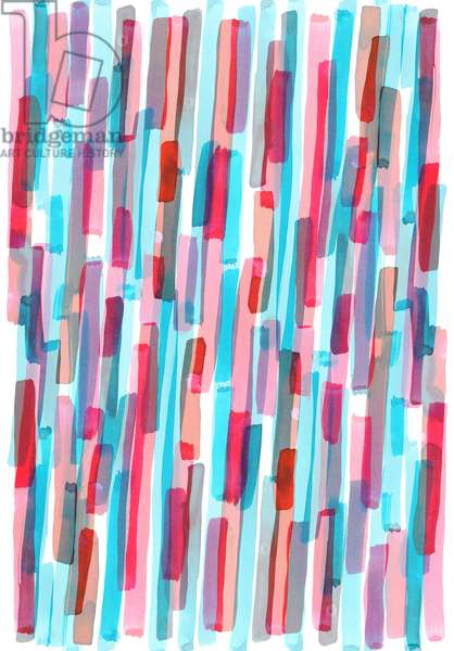 Brush Stripe, 2017, (digital)