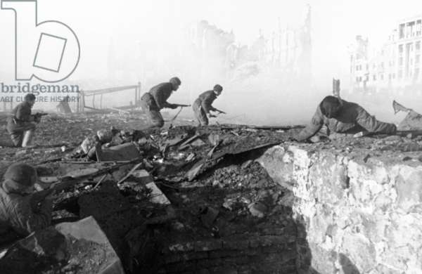 World War Ll: Battle of Stalingrad, 1942.