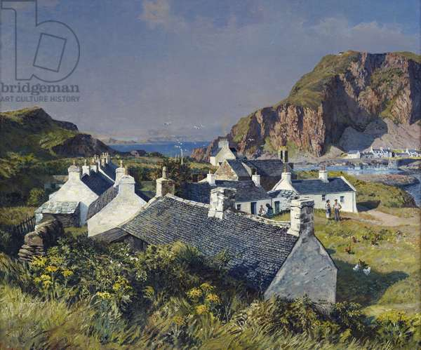 Easdale, 1947 (oil on canvas)