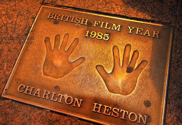 Charlton Heston plaque