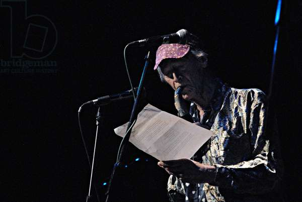 Michael Horovitz, Purcell Room, London, 2010 (photo)