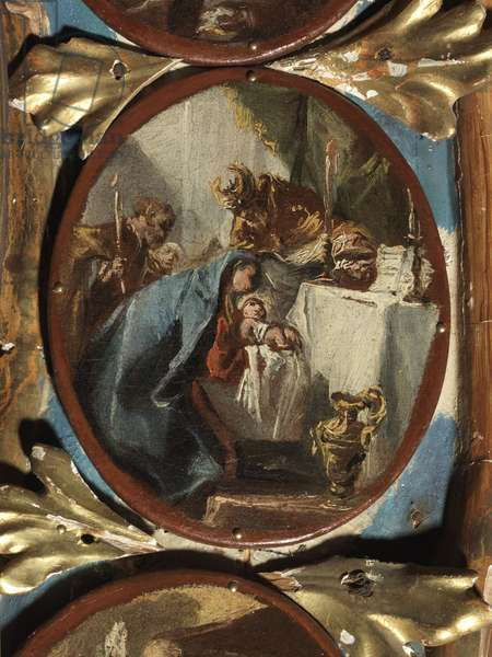 Mysteries of the Rosary, by Francesco Guardi, 1760, 18th Century, oil on canvas