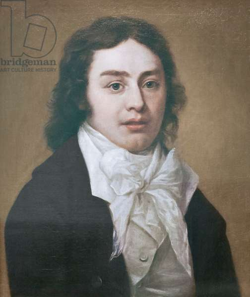 Samuel Taylor Coleridge, 1795 (oil on canvas)