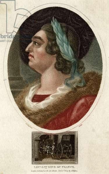LOUIS XV, FRENCH ROYALTY