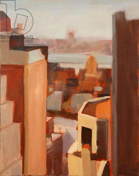 Wade's Window, 2003, (oil on canvas)