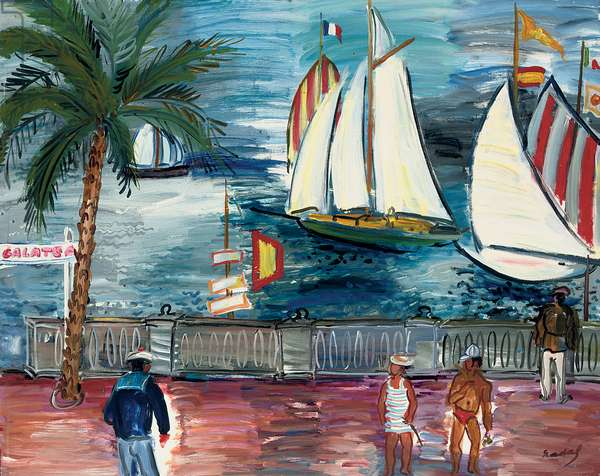 La Rochelle  (oil on canvas)