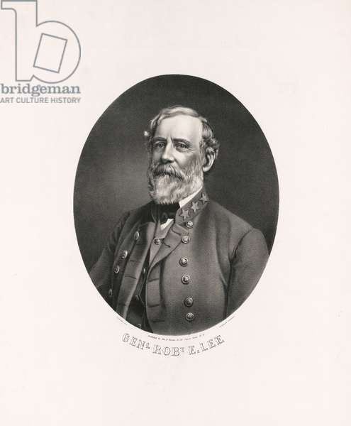 General Robert E. Lee, printed by Charles White, published by George E. Perine, 1863 (litho)
