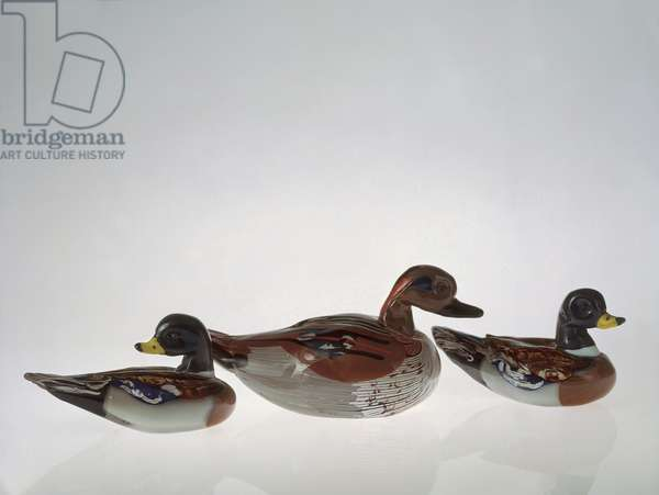 Three Ducks, 1964 (glass)