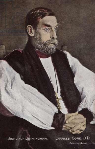 Bishop of Birmingham, Charles Gore, DD (photo)
