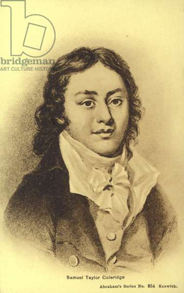 Samuel Taylor Coleridge (1772-1834), English poet (litho)