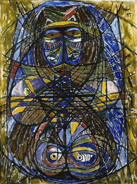 Untitled, 1947 (oil on canvas)