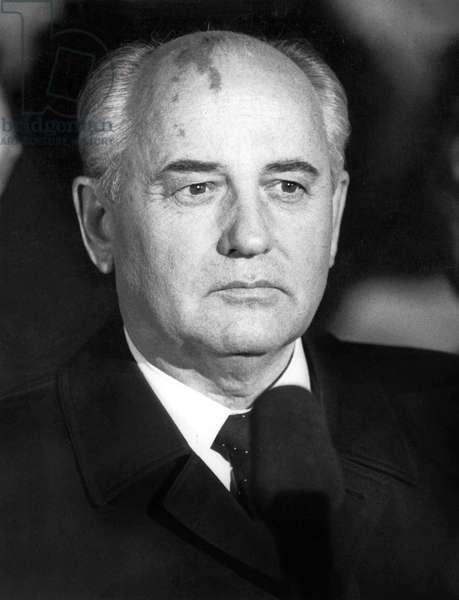 Mikhail Gorbatchev, 1991