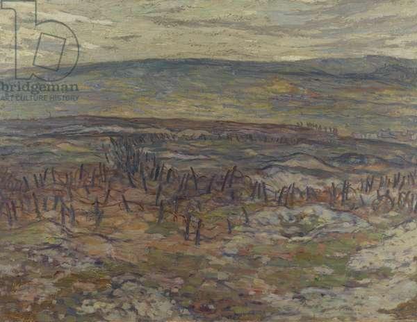 Lorette Ridge, 1918 (oil on canvas)