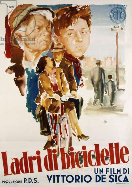 a literary analysis of the bicycle thief by vittorio de sica As has often been pointed out, the original italian title of vittorio de sica's the bicycle thief (1948) is ladri di biciclette.