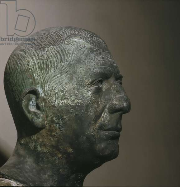 Portrait head of the banker Lucius Caecilius Jucundus (or his father)