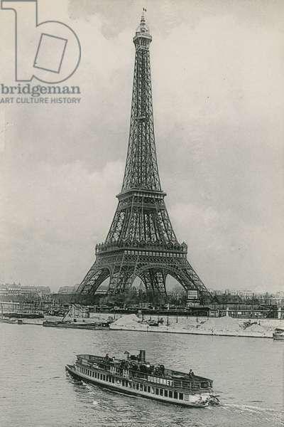 La Tour Eiffel, The Eiffel Tower (photogravure)