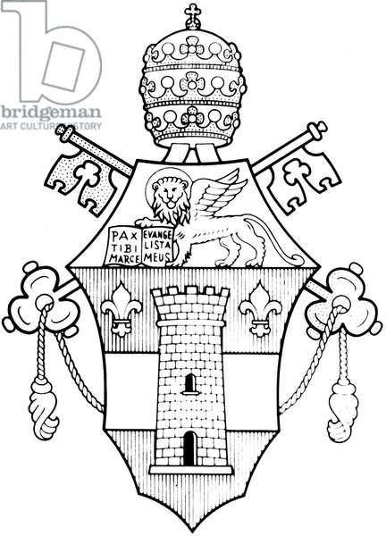 Pope John XXIII's coat of arms, it