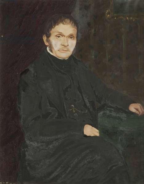 Portrait of Thomas Vondy, the King's Messenger (oil on canvas)