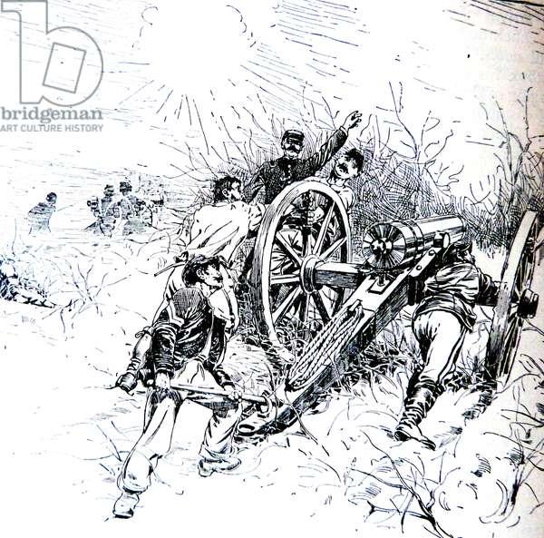 American Civil War 1861 1865 Union artillery in action