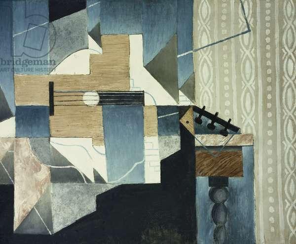 Guitar on Table; La Guitare sur la Table, 1913 (oil on canvas)