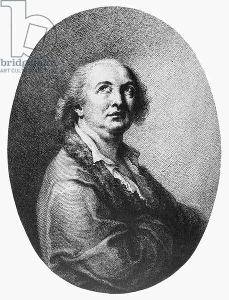 COUNT CAGLIOSTRO (1743-1795). Alessandro Conte di Cagliostro. Italian adventurer. Contemporary line engraving.