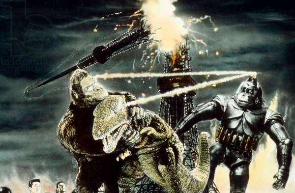 La revanche de King  Kong King  Kong Escapes (Kingukongu no gyakushu) de IshiroHonda 1967