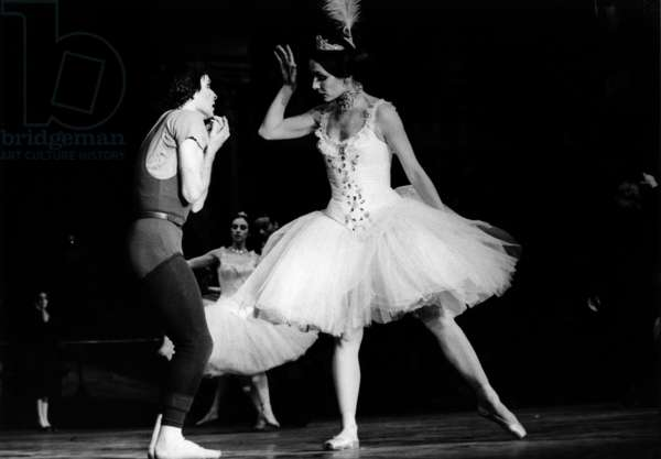 A Scene Of The Ballet 'Gaite Parisienne' By Maurice Bejart At the Palais Des Sports 16 January 1979 (b/w photo)
