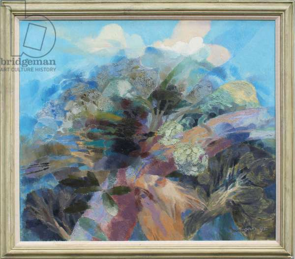 Bird in a Landscape, 1992 (oil on canvas)