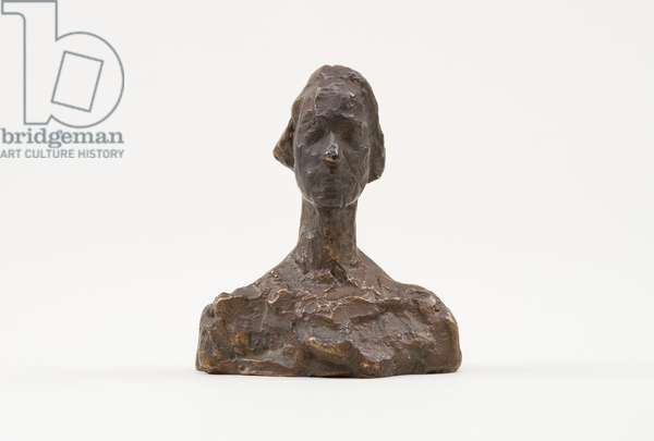 Bust of Ottilia, c.1937-39 (bronze)