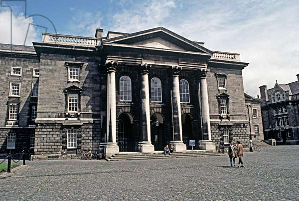 Trinity College, Dublin, referred to in James Joyce, 'A Portrait of the Artist as a Young Man', Ireland (photo)