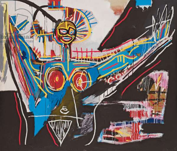 Mater, 1982 (acrylic and oilstick on canvas)