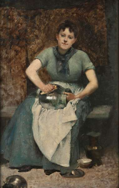 The Servant, c.1875-90 (oil on canvas)