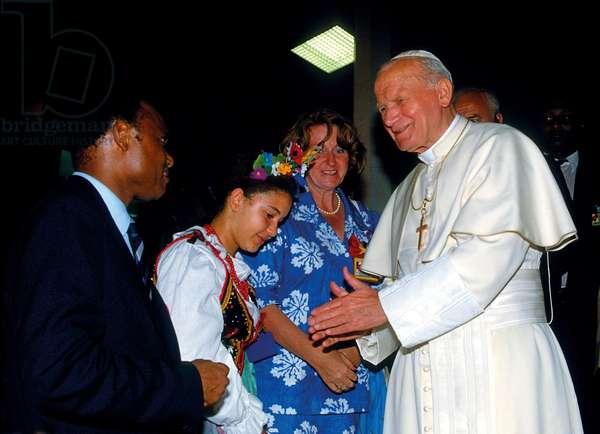Pope John Paul II, Guinea