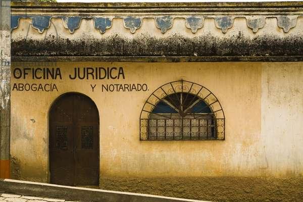 Central America, Spanish Architecture, Patzicia, Guatemala (photo)