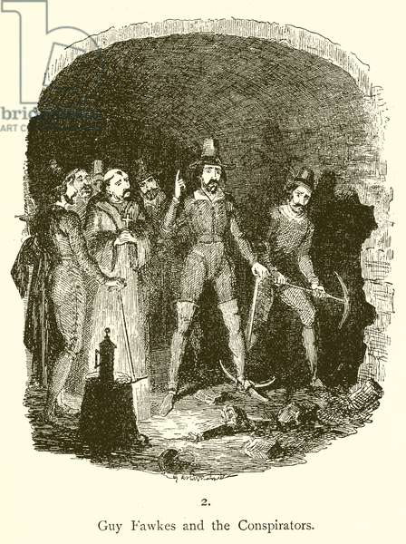 Guy Fawkes and the Conspirators (engraving)
