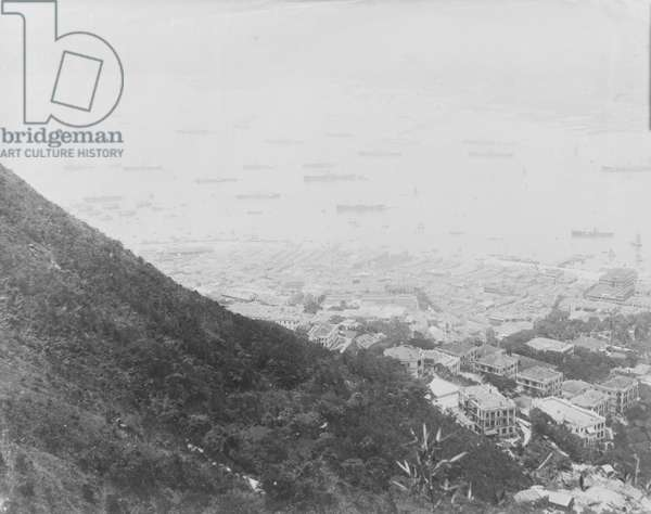 Central and Western parts of Hong Kong Harbour, 1903 (b/w photo) [1998/028/2/7]